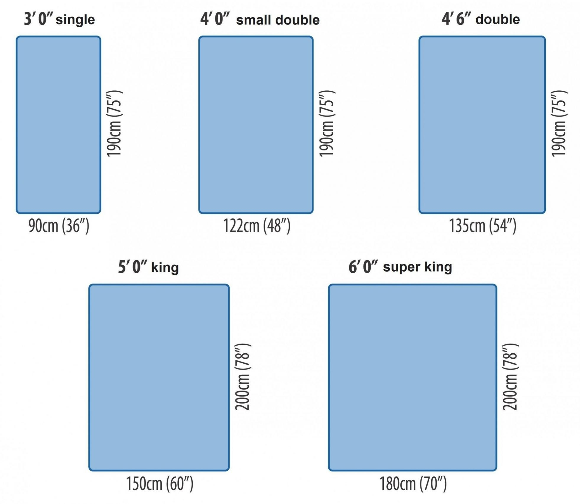 measurement king size mattress mattress