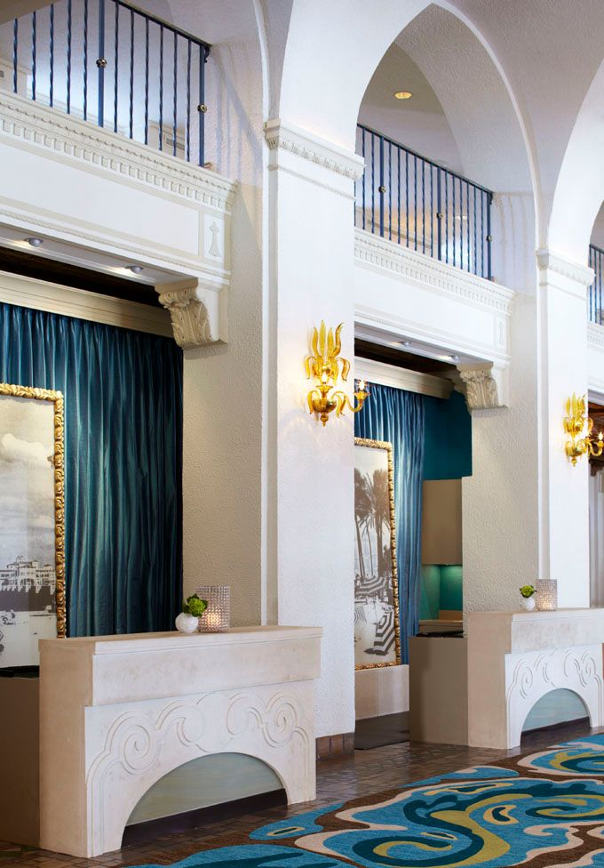 Located On Tampa Bay Near St. Pete Beach, The 86 Year Old Resort Recently  Revealed A Renovation Of Their Gorgeous Lobby. The Architecture And Interior  ...