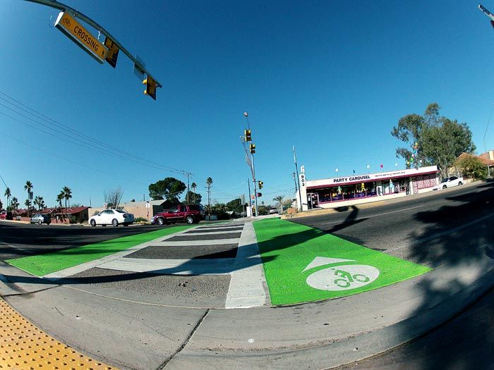 'Crossbike': Tucson's newest bicycle amenity for crossing streets
