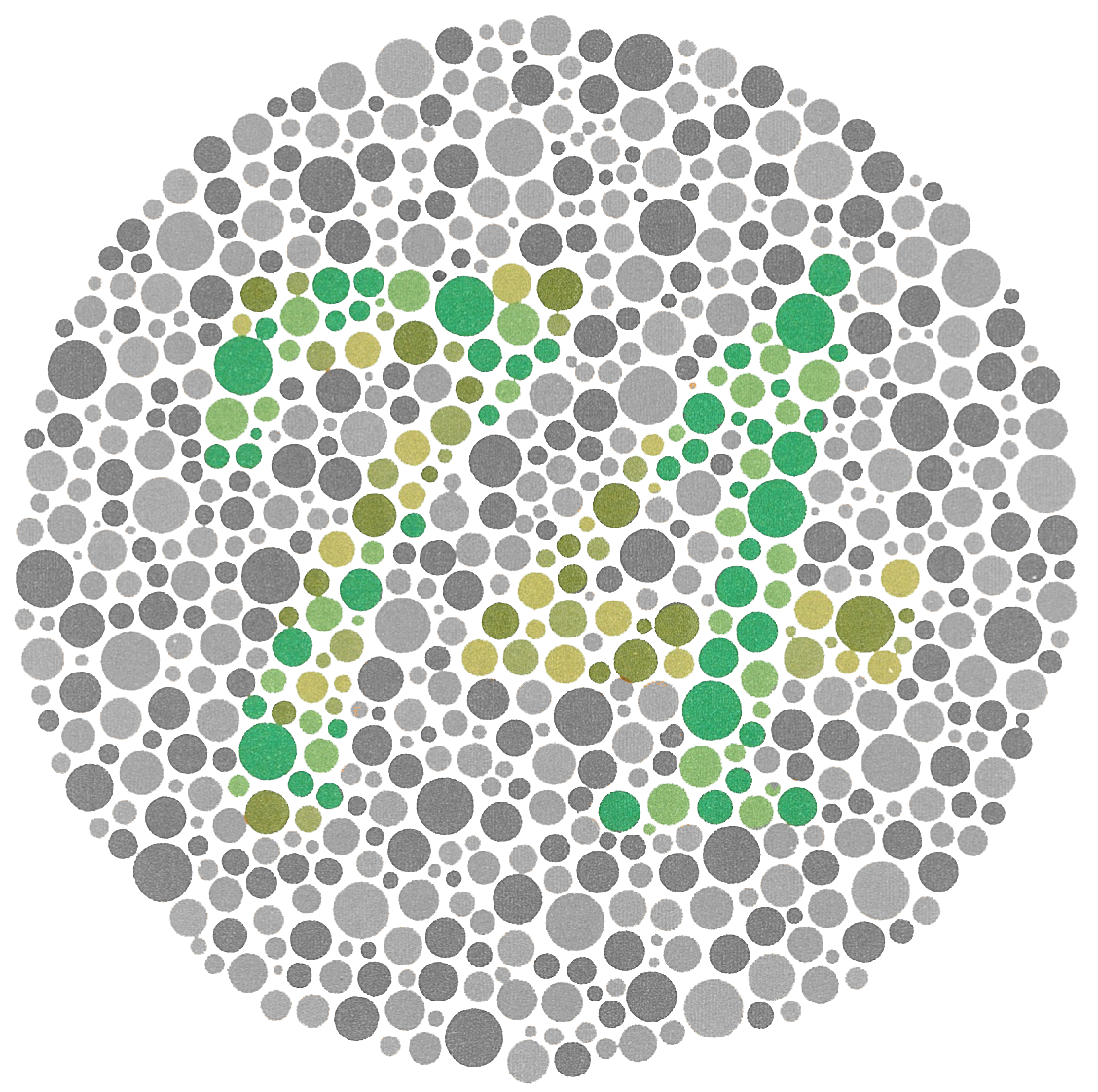 Ishihara Color Vision test | Patterns & Repetition | Pinterest ...