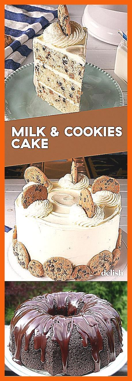 Photo of Paula Deens Ooey Gooey Butter Cake –  Chocolate Chip Cookie Fans NEED This Milk …