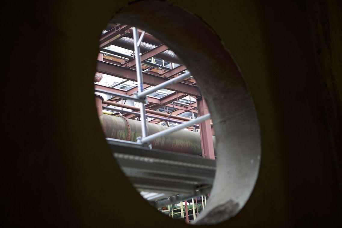 Unsere Grand Hall liegt einfach mitten drin im Zollverein-Areal und ist umgeben von Geschichte soweit das Auge reicht!