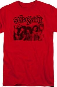 Aerosmith Group Photo T-Shirt