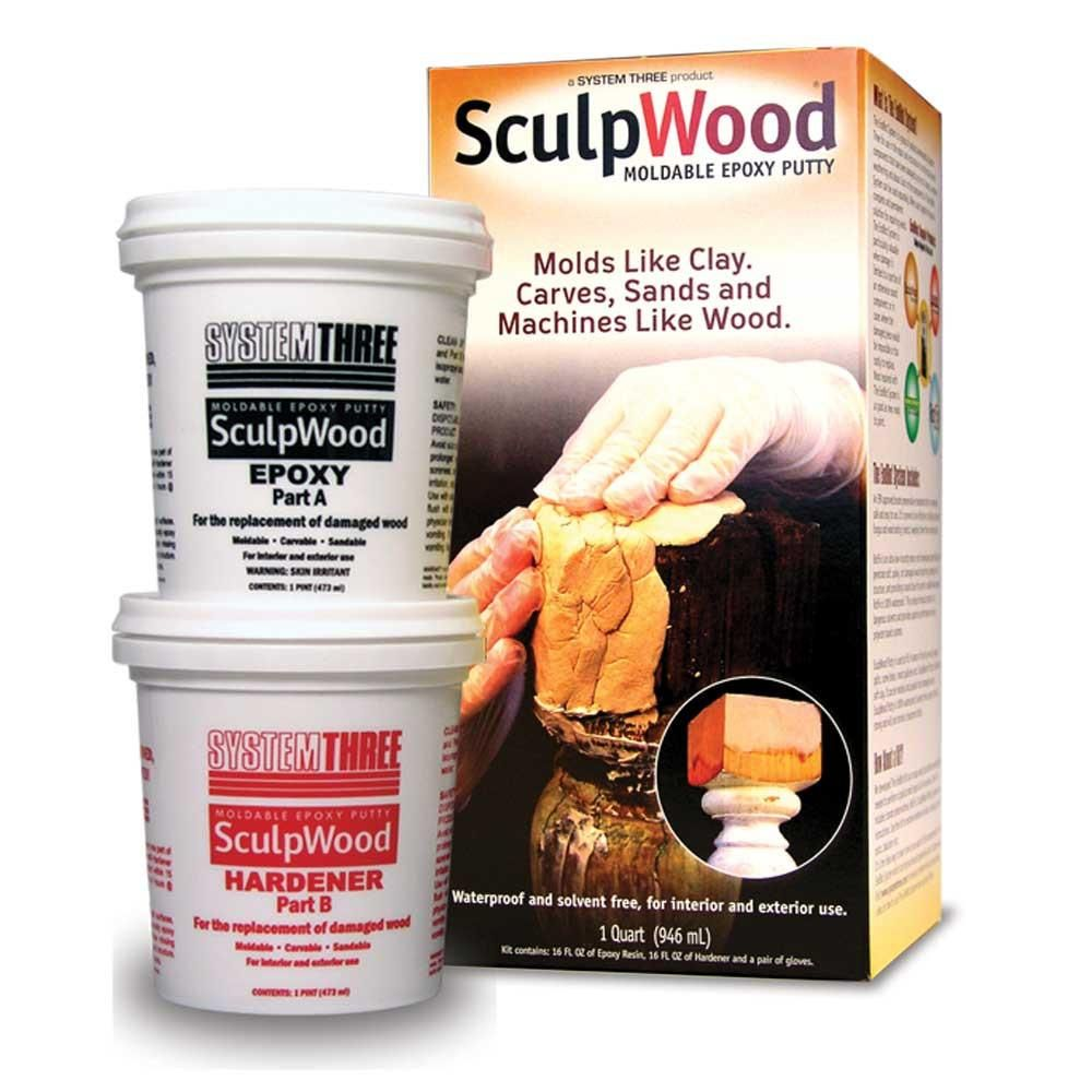 Sculpwood Putty Epoxy Putty Wood Repair Epoxy