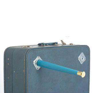 Teacup Vintage: DIY: Vintage Suitcase Table