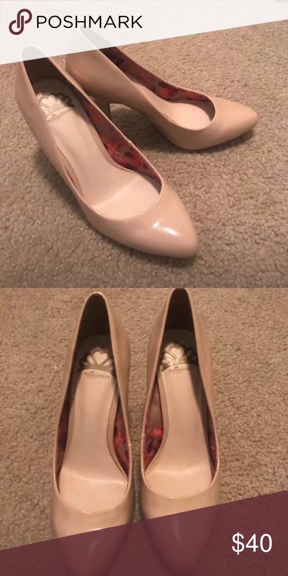 nude heels from dsw // brand: fergalicious by fergie // size 6 ...