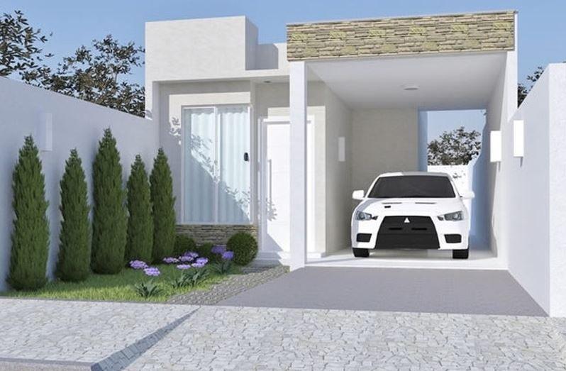 Fachadas Para Casas De 6 Metros De Frente Casas Bonitas Modernas Casas Casas Modernas Arquitectura