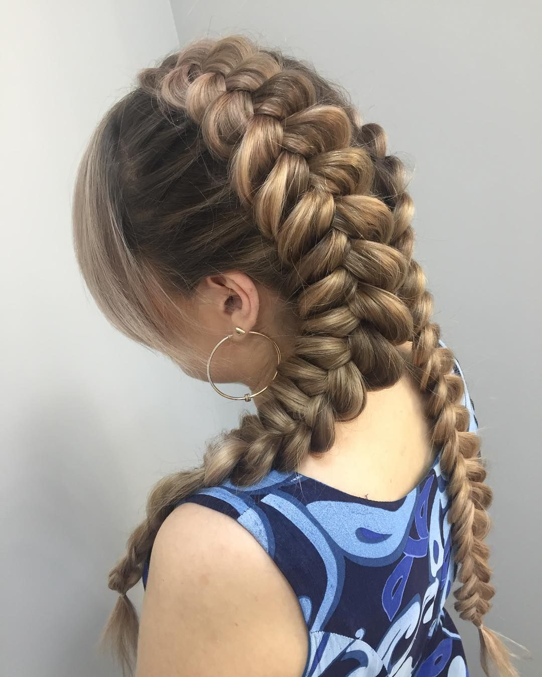 25 cool pigtails hairstyles — from dutch and french braid pigtails