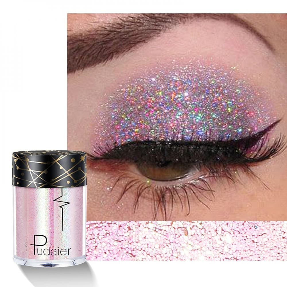 Glitter Shimmer Pigment Eye Shadow Hepema Eye Makeup