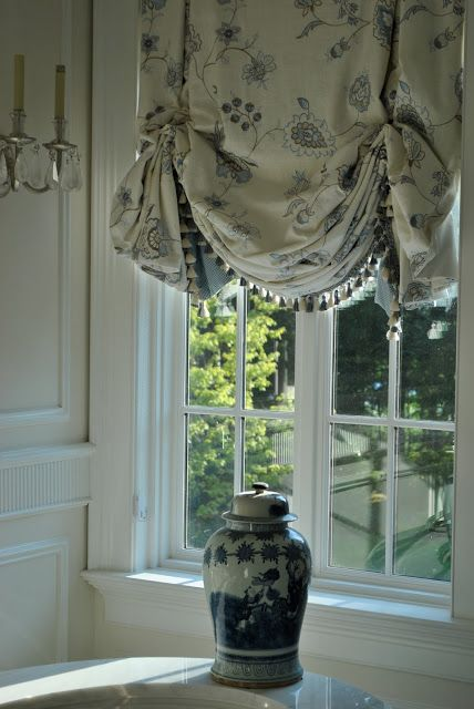the enchanted home blue and white love pinterest window curtain ideas and window coverings