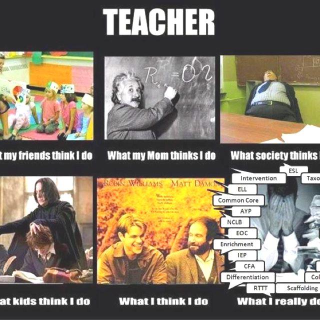 How the world sees teachers!
