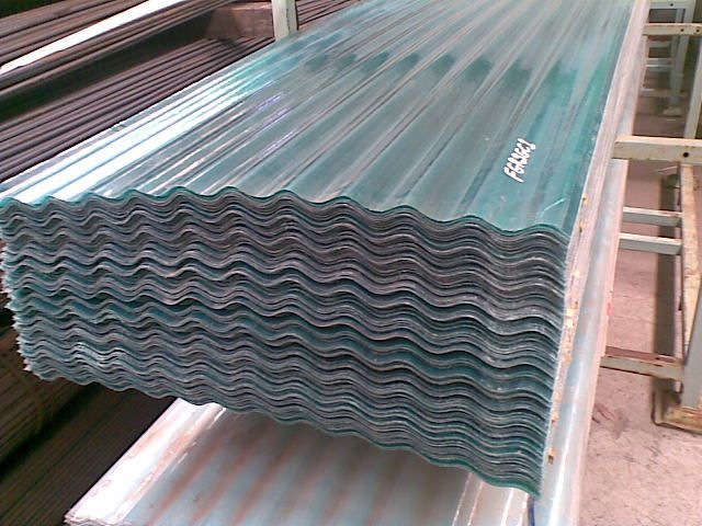 Where To Buy Corrugated Roof Panels Either Plastic Of Fibre Glass? (patio)