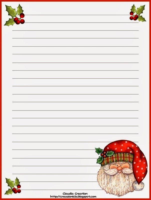 Papel De Carta Papai Noel Carta Para O Papai Carta Papai Noel Carta Para Papai Noel