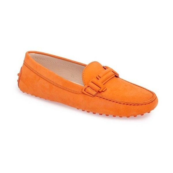 double T loafers - Yellow & Orange Tod's WGT6EWS