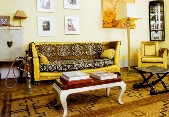Bright Interiors In African Style