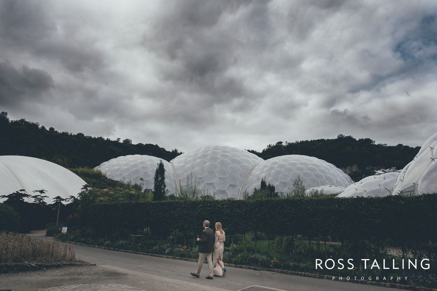 Eden Project Wedding by Cornwall wedding photographer Ross Talling