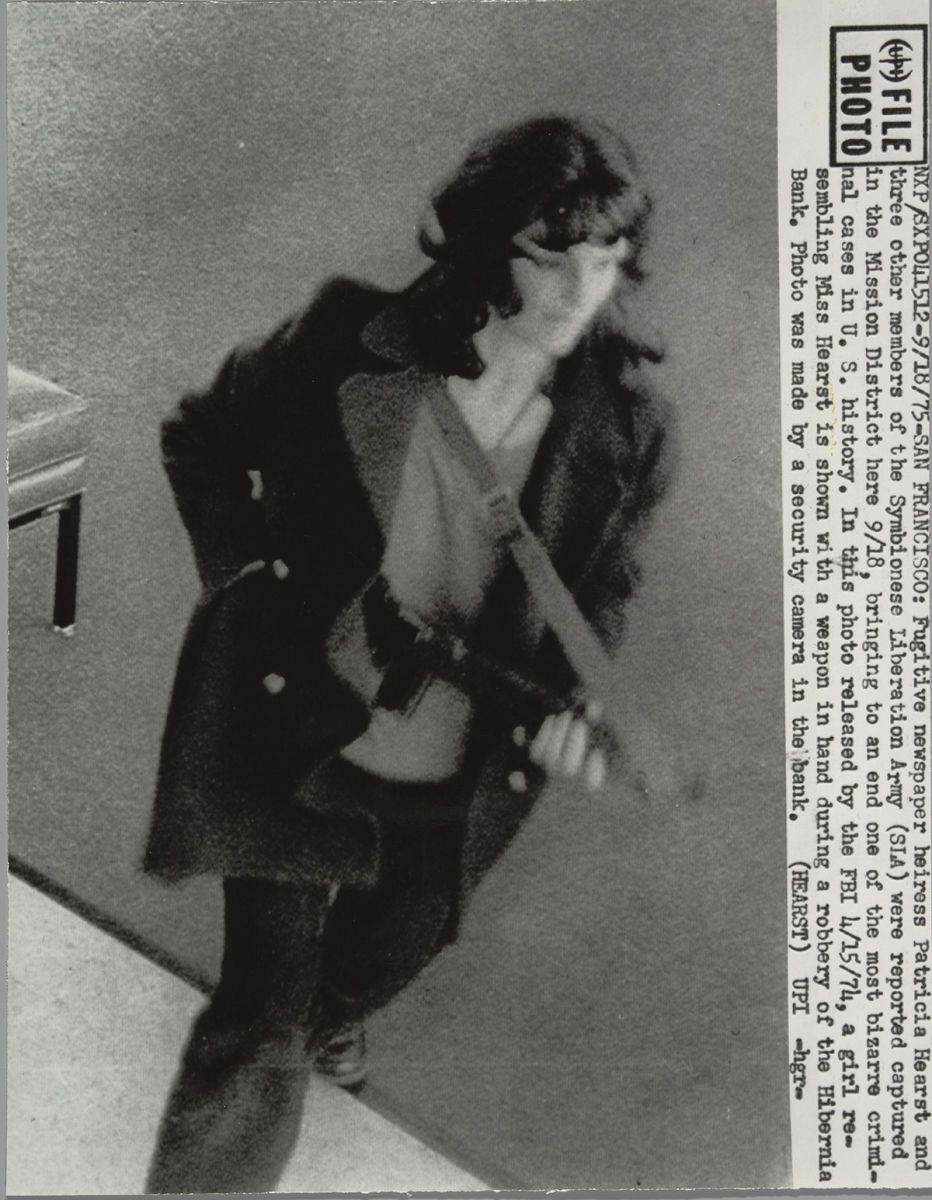 Image result for patty hearst robbery