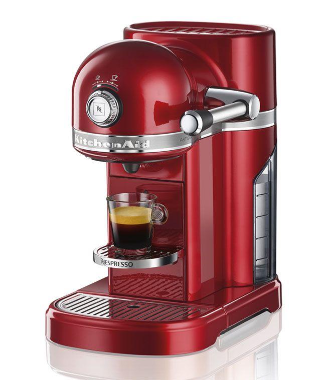 Nouvelle Nespresso Kitchenaid : Design vintage à l'américaine ...