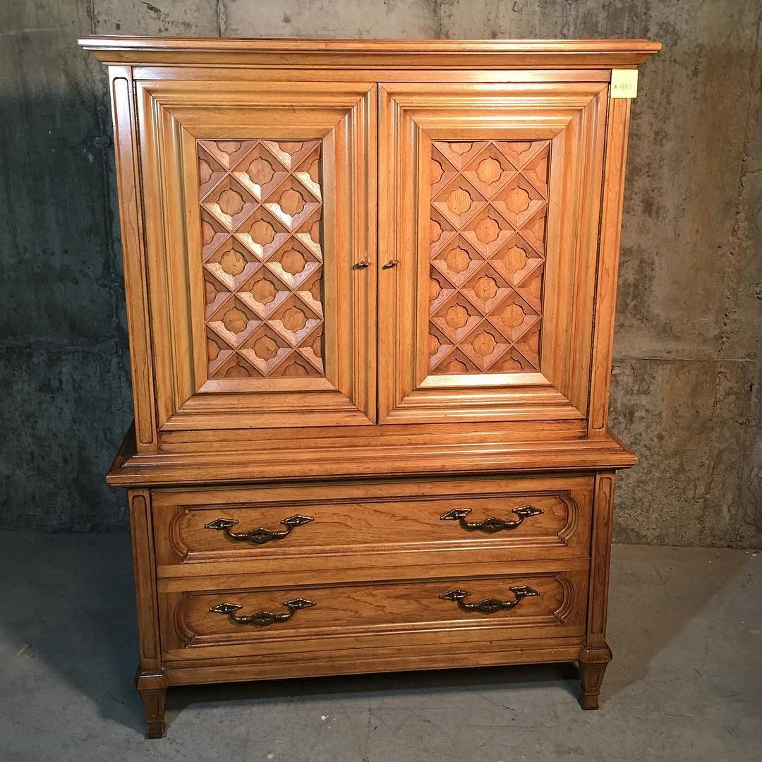 Blonde Armoire Nightstand 85 Armoire 43 Wide X 20 Deep X 58 Tall 6 Drawers 2 Doors Night Stand 27 Wide X 17 Deep Furnishings Cool Furniture Furniture