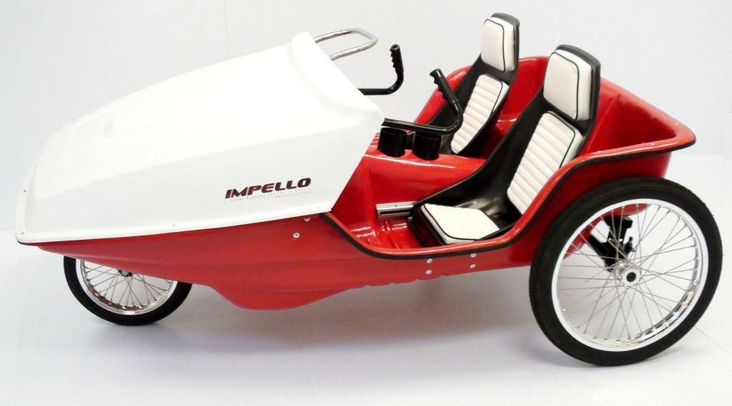 Impello ppv trikes and velomobiles pinterest pedal for Is a bicycle considered a motor vehicle