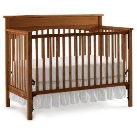 Classic Wooden Crib Love The Walnut Finish Cribs