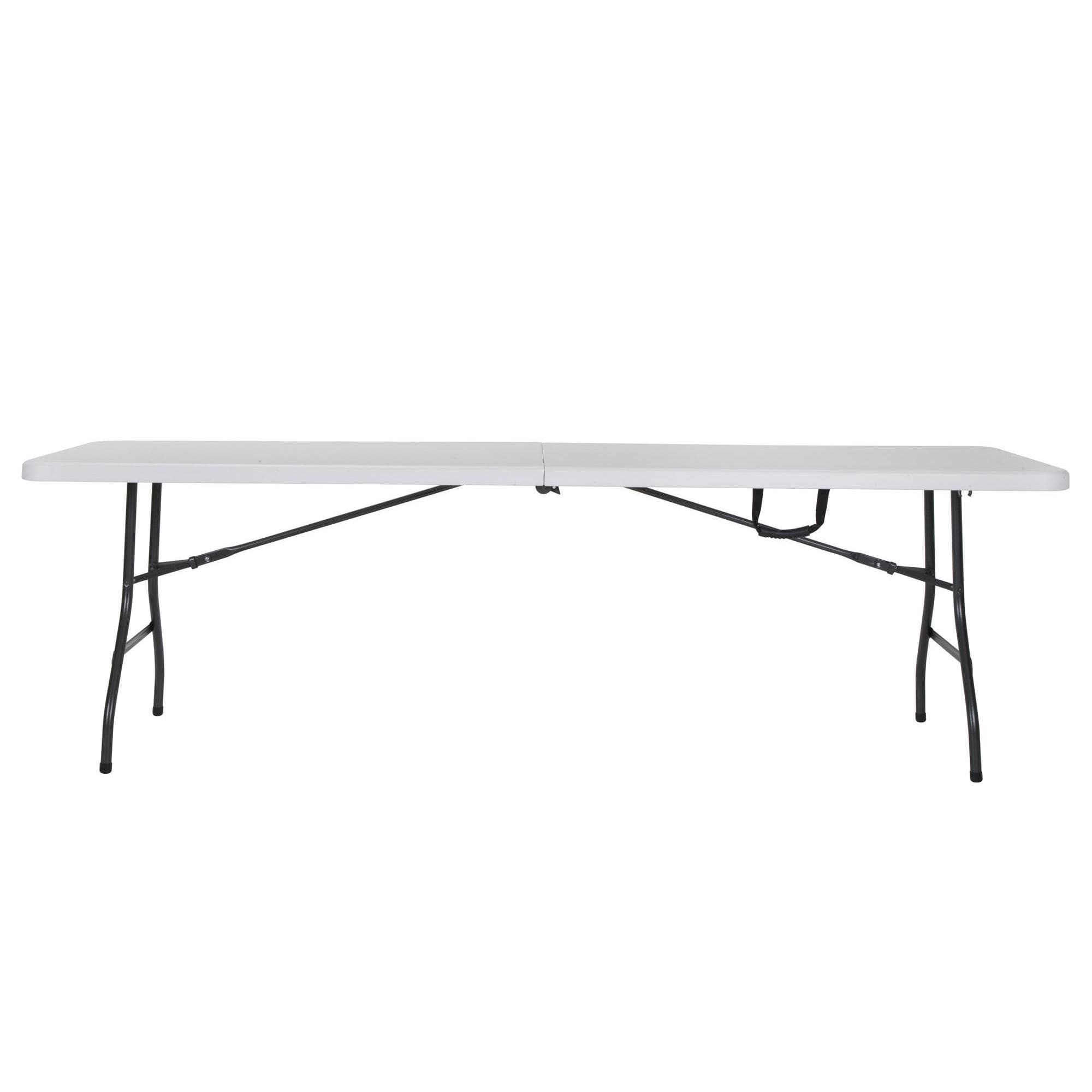 Cosco Deluxe 8 Foot X 30 Inch Fold In Half Blow Molded Folding