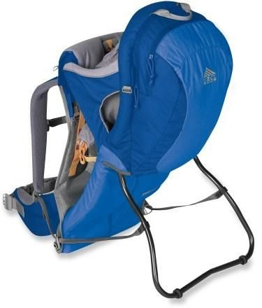 accbd1ce381 A classic child carrier from Kelty. Camping With A Baby