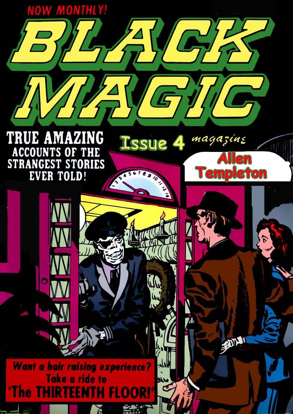 Black Magic Comics Issue 5 Strangest Stories Ever Told Comic Book The Thirteenth Floor From Golden Age Comics Of The 5 Vintage Comic Books Comic Books Comics