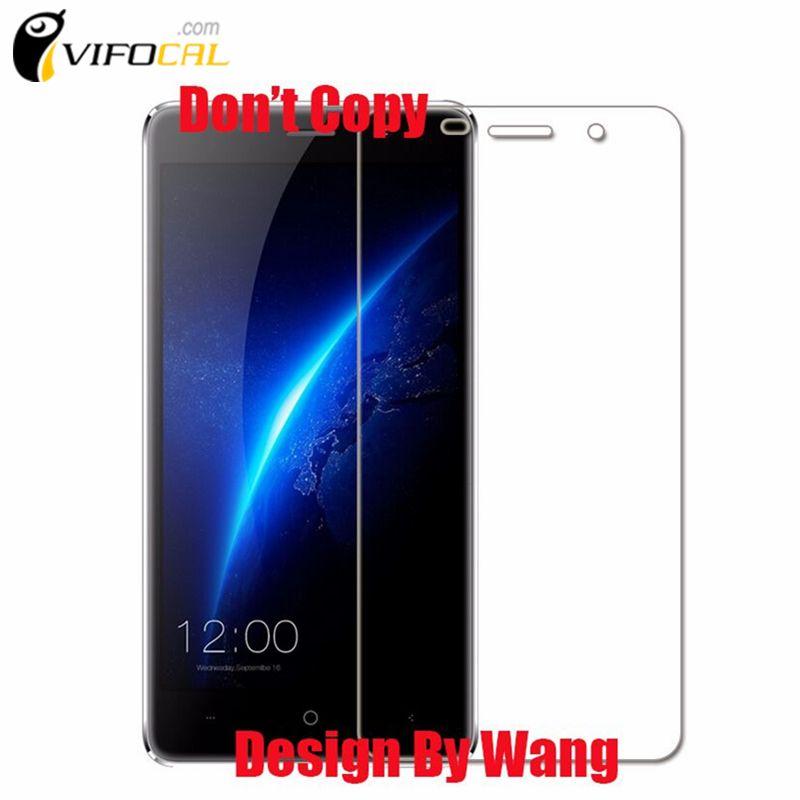 Leagoo M5 Gehard Glas 5.0 inch 100% Originele Premium Screen Protector Film Voor Leagoo M5 mobiele telefoon-In Voorraad