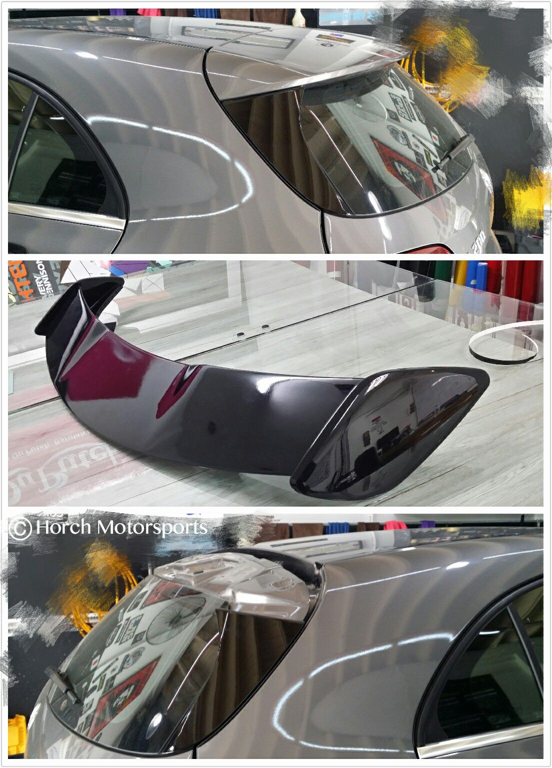 W176 A-Class ready to A45 alike AMG Wing Spoiler :) Stay tuned! Free installation @ Horch Motorsports 017-2105779. #Mercedes #Benz #W176 #AMG #Spoiler #HorchMotorsports #GT #EuroCar #Motorsport