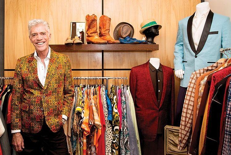 Deja Vu Owner William Miller In Shop Photo Credit Jaime Kowal On Palm Springs Life Vintage Clothes Shop Vintage Outfits Vintage Fashion