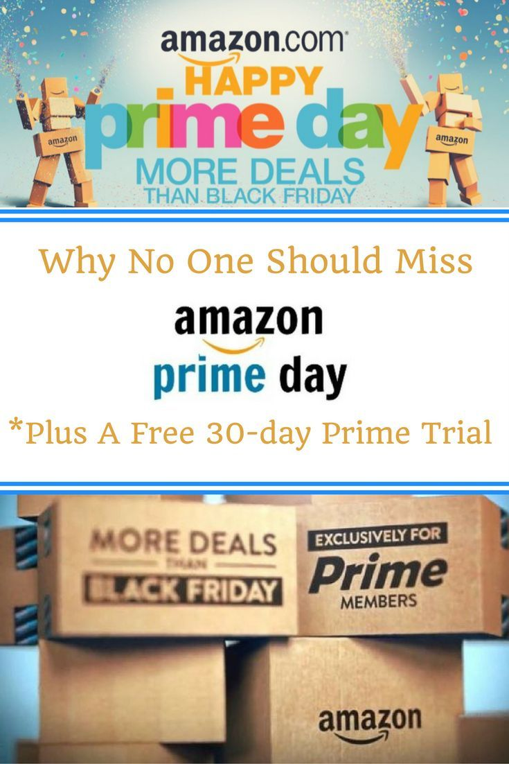Why No One Should Miss AMAZON PRIME DAY Amazon prime day
