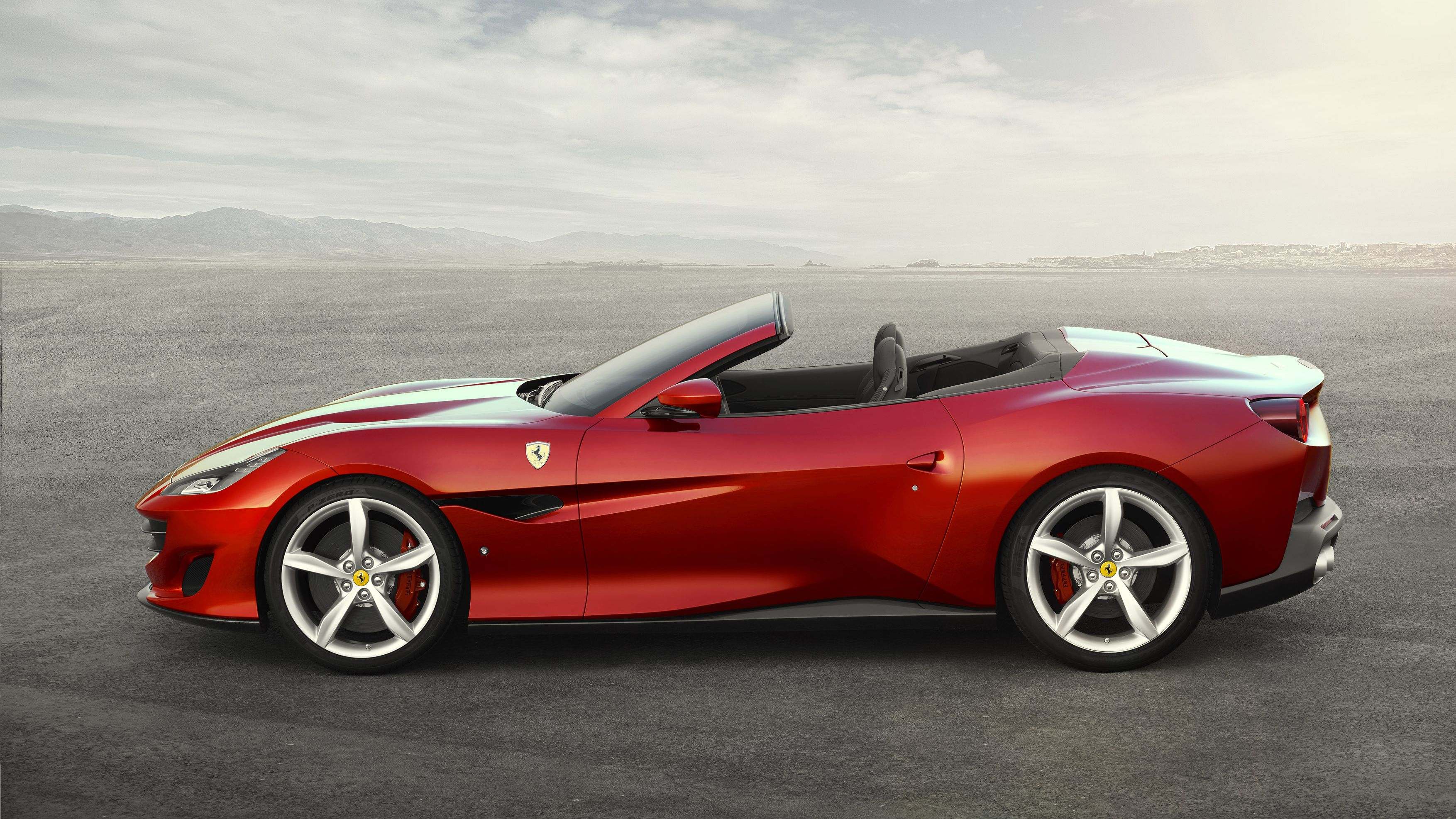 in day convertible california for a ferrari leather pin interior red italy rent