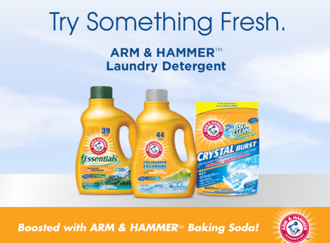 Arm Hammer Save 1 00 Laundry Detergent Coupon Laundry