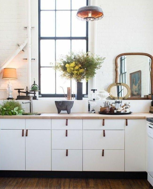Kitchen with Mirror | Remodelista