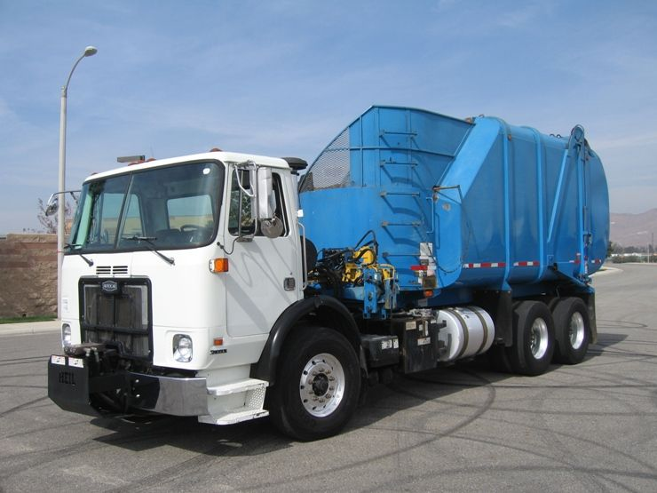 2006 Autocar Xpeditor With Heil 30yd Rapid Rail Automated Side Loader Garbage Truck Trucks For Sale Trucks