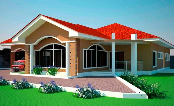 Executive house plans in ghana