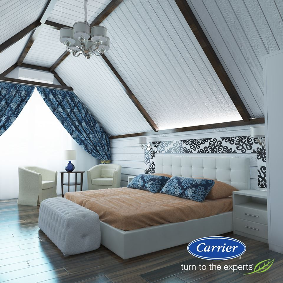 That Stuffy Attic Space Could Never Be Transformed Into Your Dream Place Without Ductless A C Attic Spaces Furnace Repair Heat Pump Cover