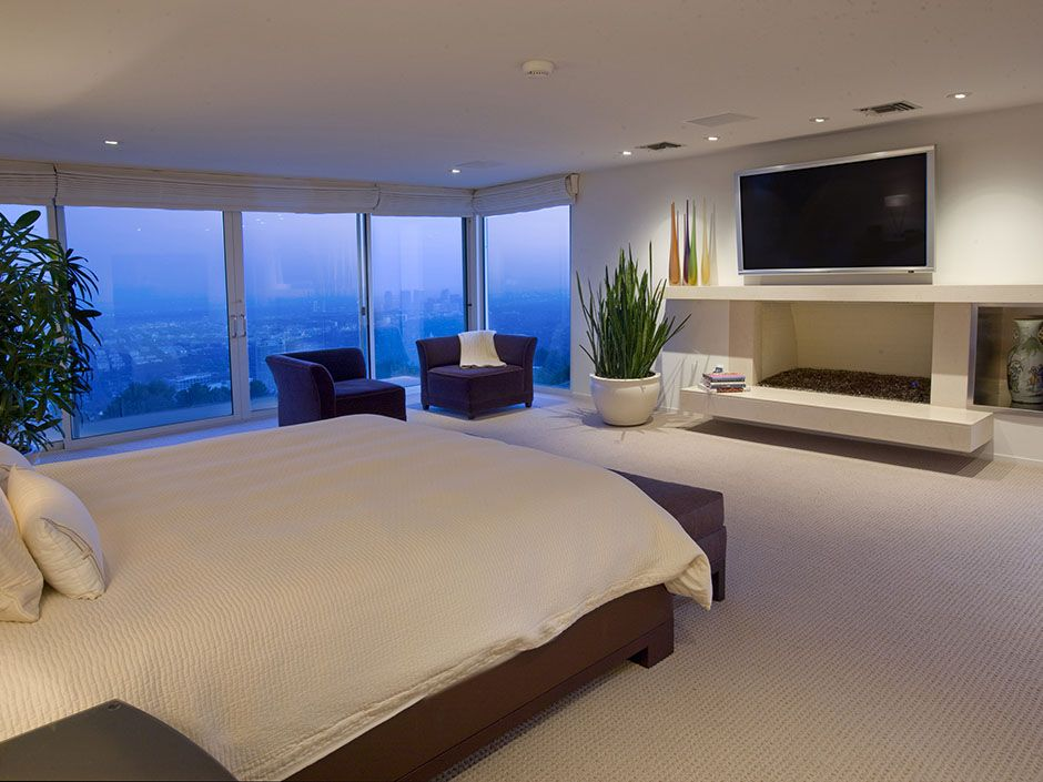 Modern Bedroom Pictures With Tv tvs in the bedroom | mansion bedroom, bedrooms and modern
