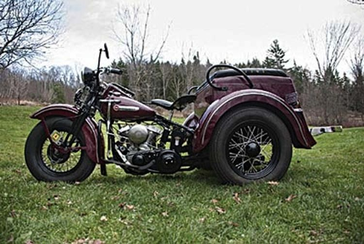 1949 Servicar, vintage three wheeler, Harley trike, clic ... on
