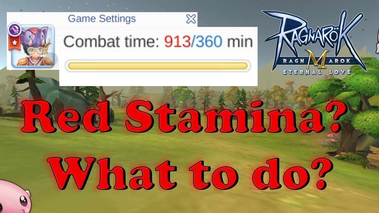 5 Things You Can Do When You Re Out Of Stamina And Quests Ragnarok M Et Stamina Eternal Love You Can Do