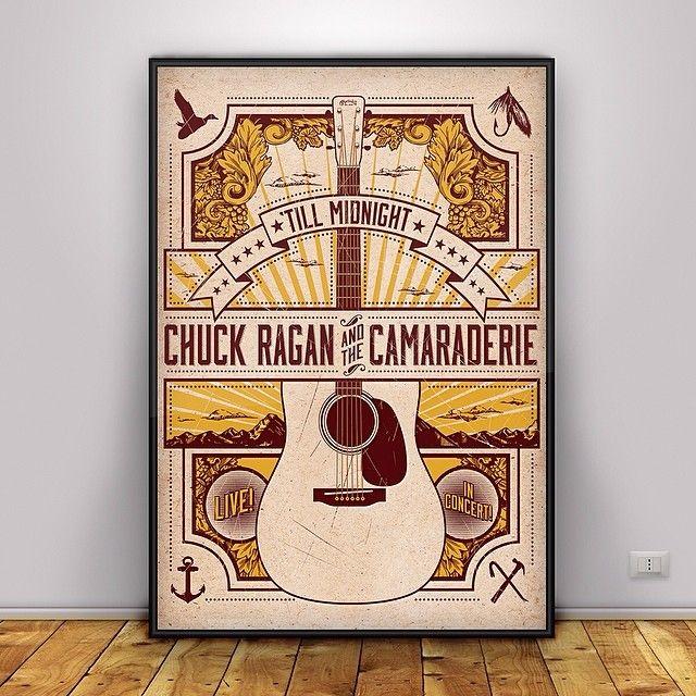Chuck Ragan tour poster