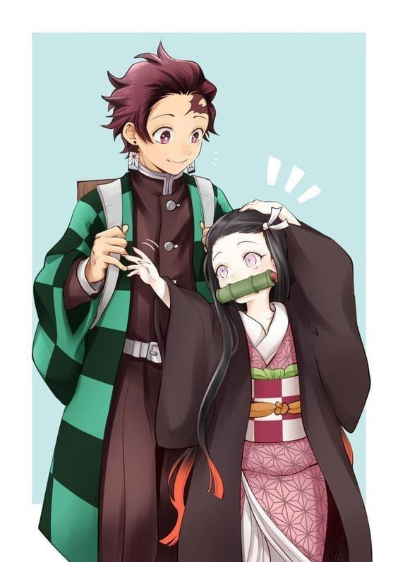Always give Nezuko some headpats