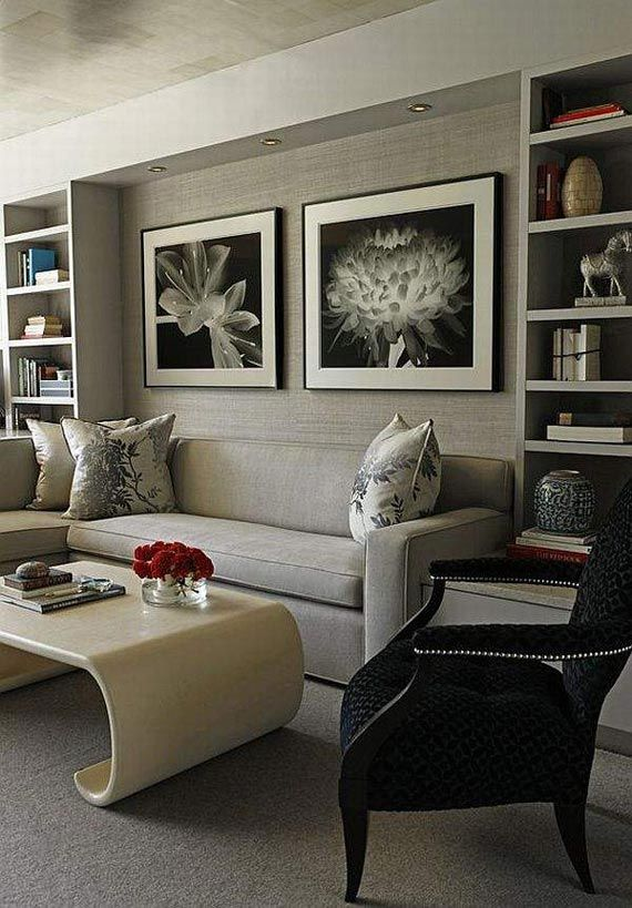 Friendly Modern Luxury Living Room Design Ideas In Soft Gray Tone By Decorati