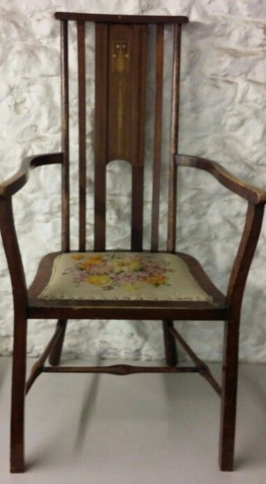 A Jones And Higgins Art Nouveau Chair Sold £30 Lot 235 Auction 24/2