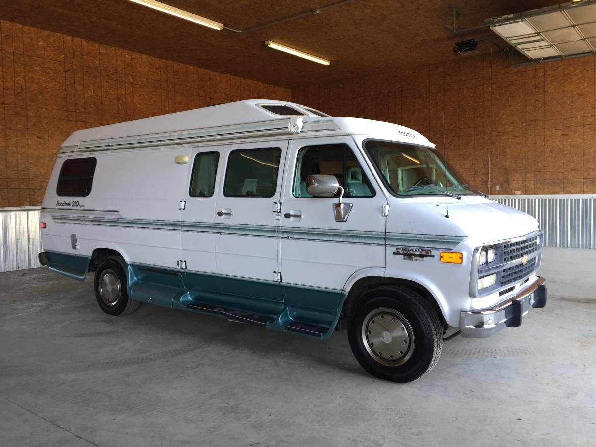 Chevy 1-Ton Extended Class B Roadtrek 210 Camper Van ...