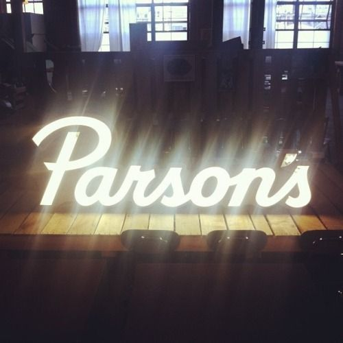 New Parson's Chicken & Fish neon for @landandseadept. Had the honor of working with @struggle_inc on the branding. So stoked! #repost from Cody himself. #lettering #neon #stoked