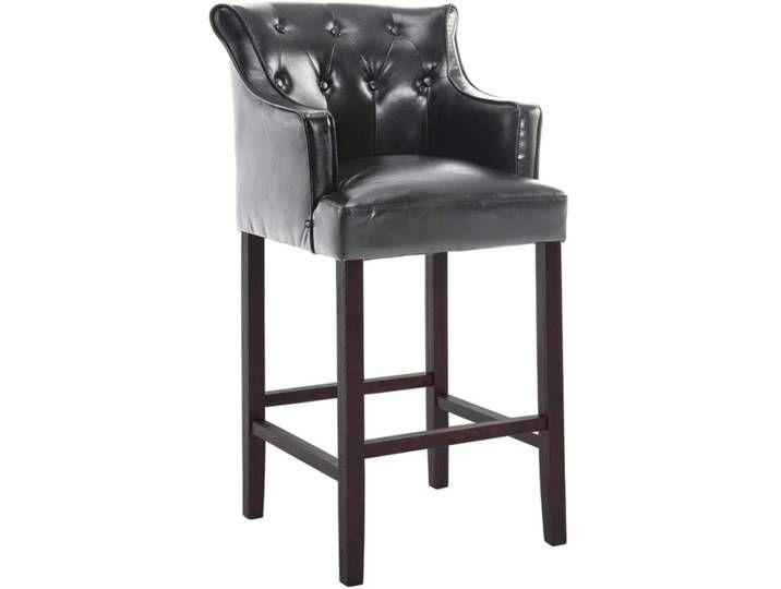 Barhocker Lykso Kunstleder Braun Schwarz Bar Stools Stool Furniture