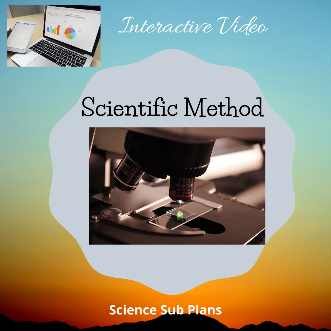 Scientific Method Worksheet Quiz And Video Link
