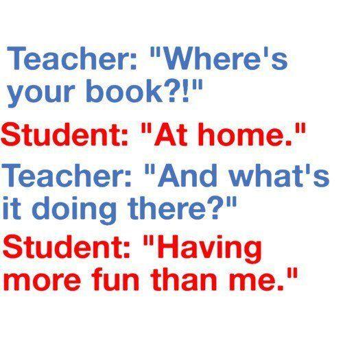 Funny Joke For Teachers Lolz Conversation Between Teacher And ...
